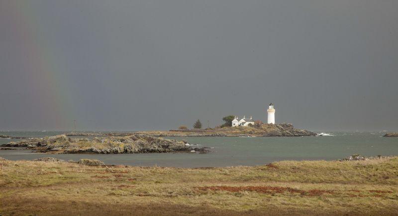 Lighthouse at Isle Ornsay