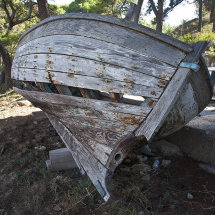 Old fishing boat, Cavtat