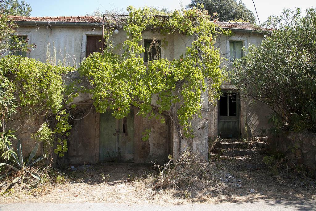 Old house, fishing village, Molunat, Croatia