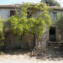 Old house, fishing village, Molunat, Croatia