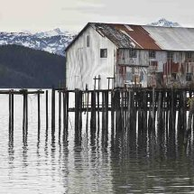 Old pier buildings, Cordova