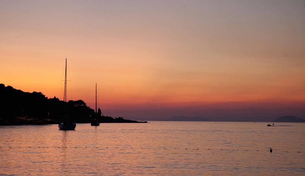 Sunset, Cavtat