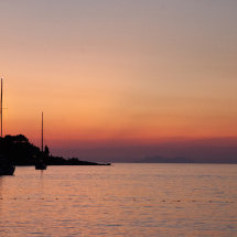Sunset, Cavtat