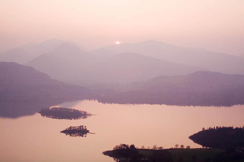 Walla Cragg sunset