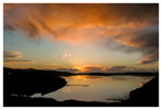 001 February Sunset over Kinish Harbour