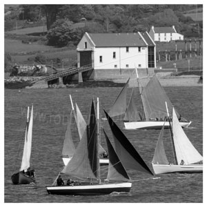 140 Wooden Boats passing Baltimore Lifeboat Station