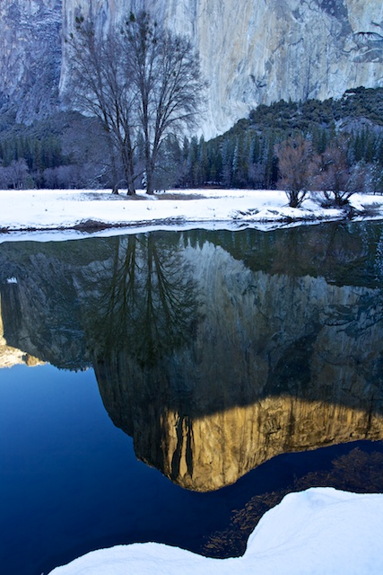 El Capitan Reflection in the Merced River