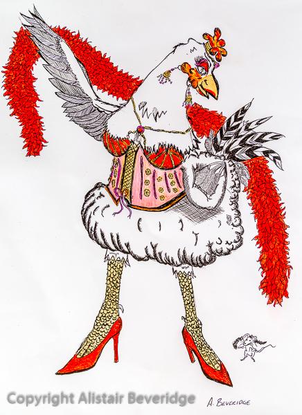 Moulin Rouge Hen