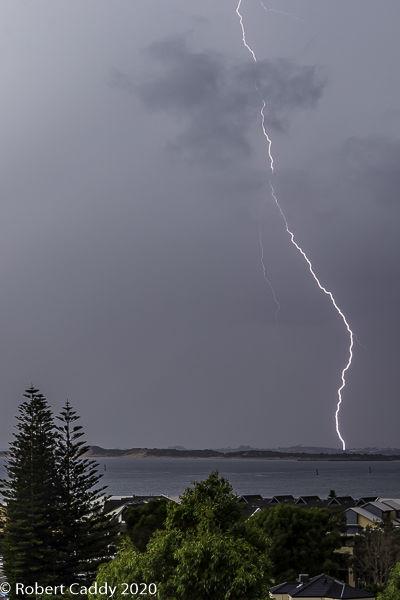 Day time Lightning Strike