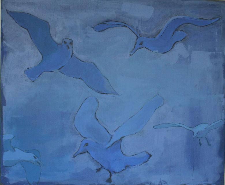 Sea Gull 5   50x60