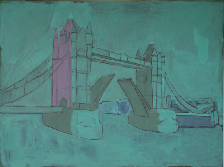 Tower  Bridge 2   60x80