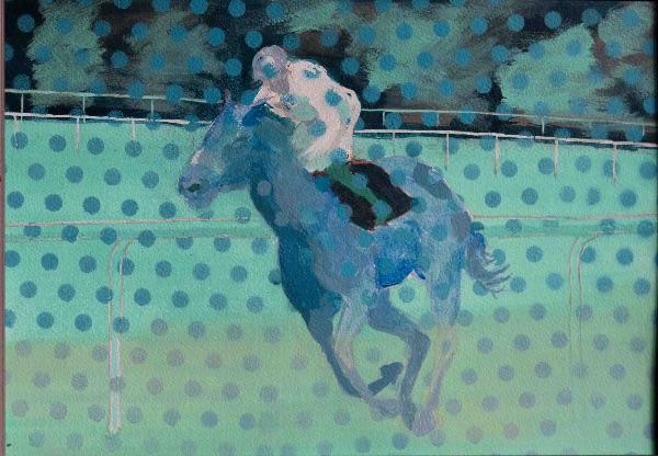 horse+rider 3  40x30cm