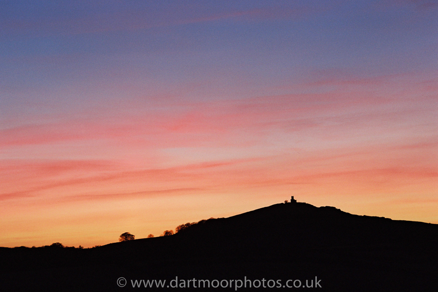 Brentor Church Sunset