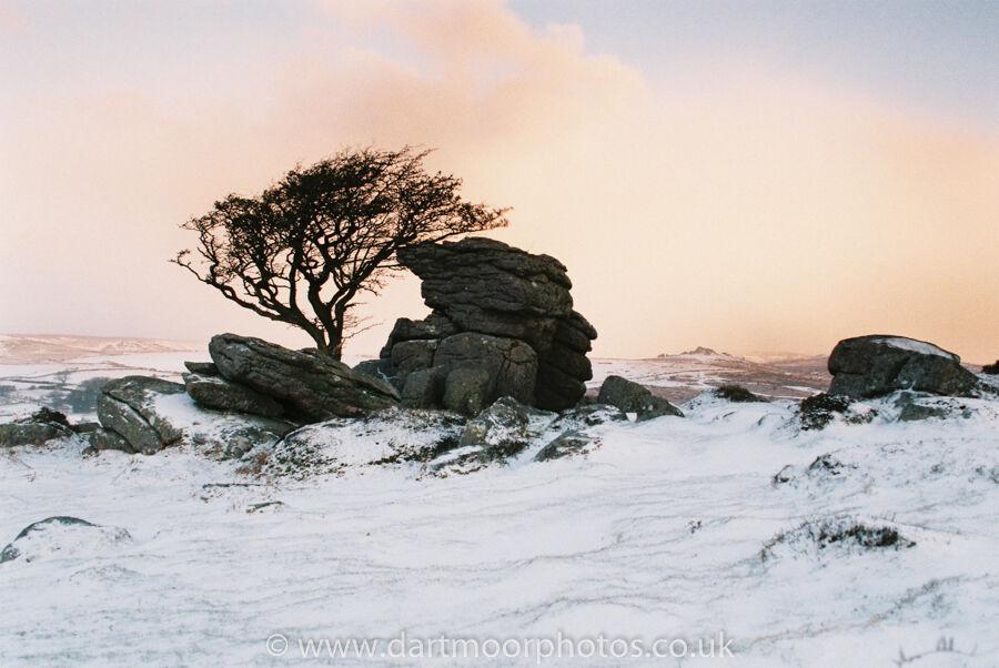 Emsworthy Rocks at dawn