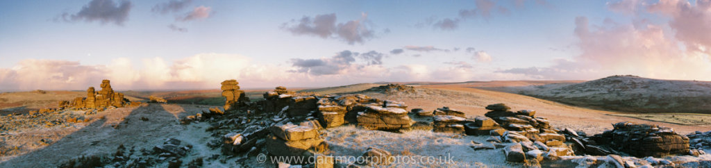 Great Staple Tor, Roos Tor and Great Mis Tor