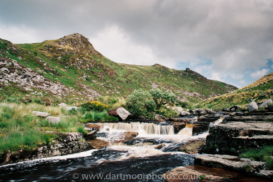 Tavy Cleave Water Fall