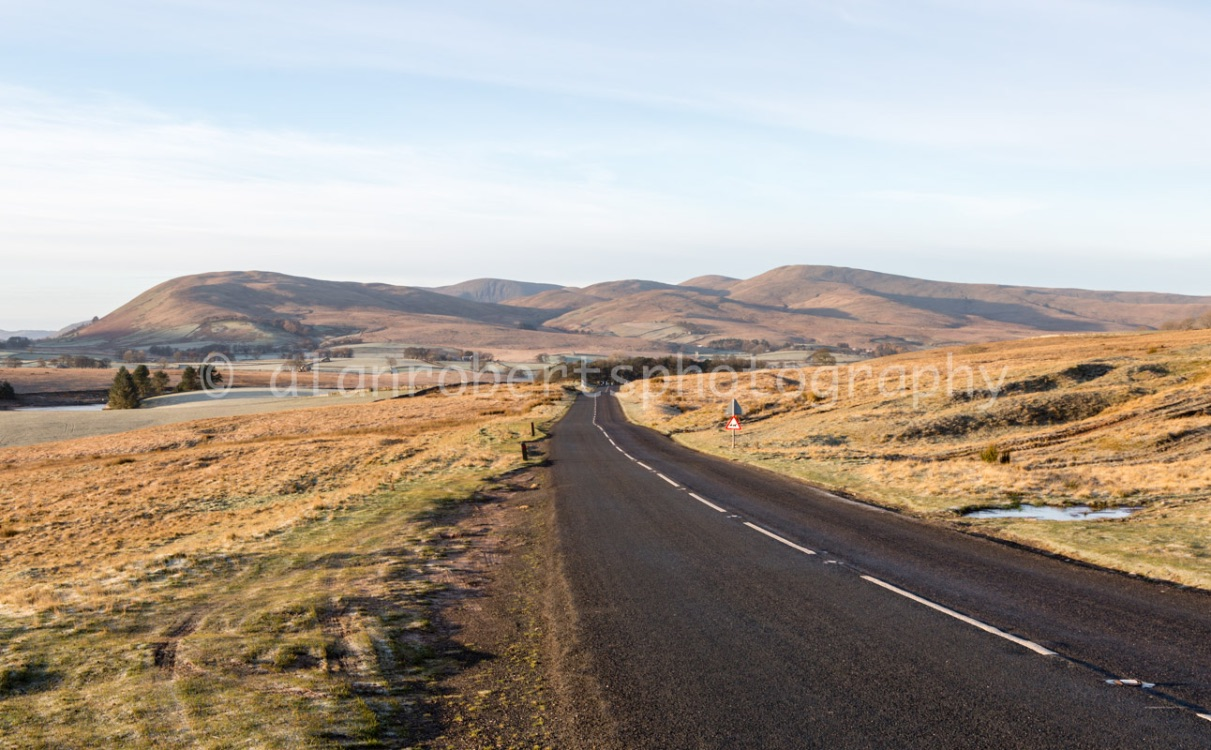 ALONG A683 TO SEDBERGH