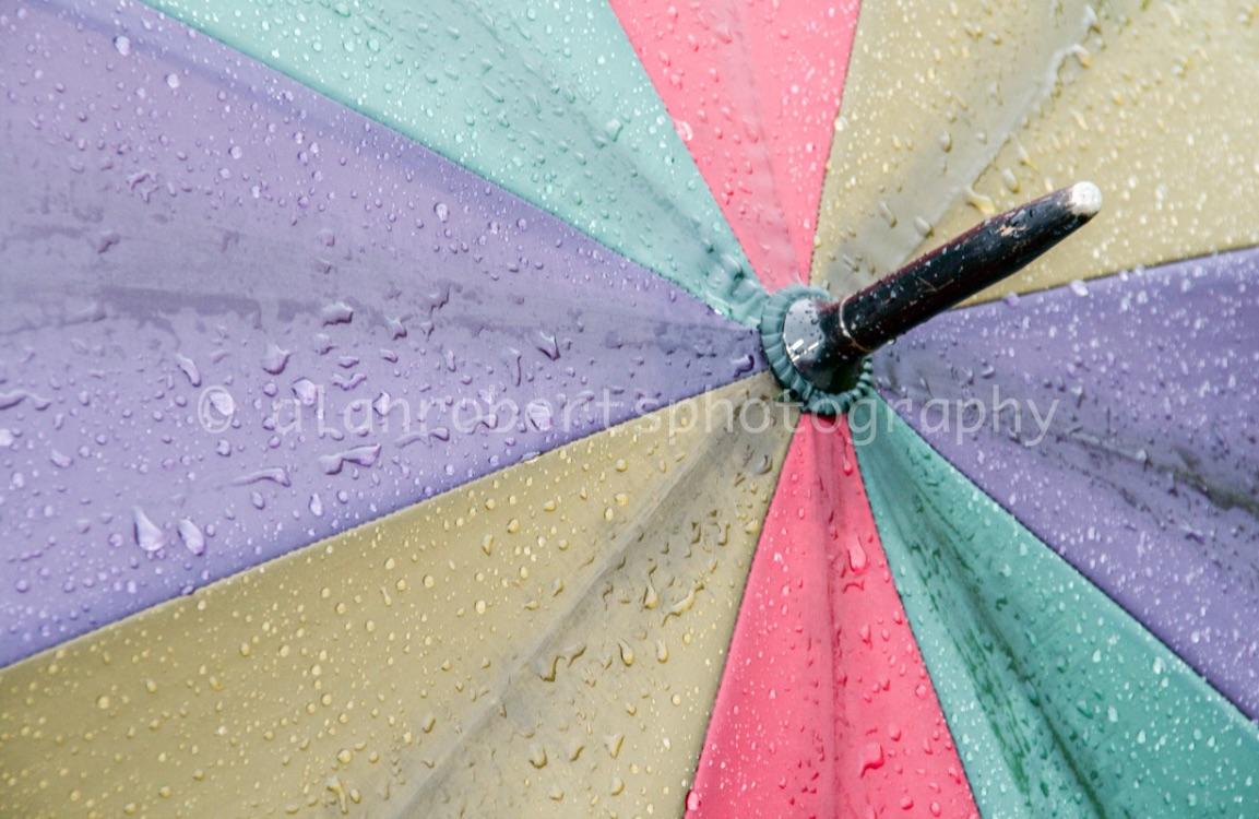 UMBERELLA IN RAIN