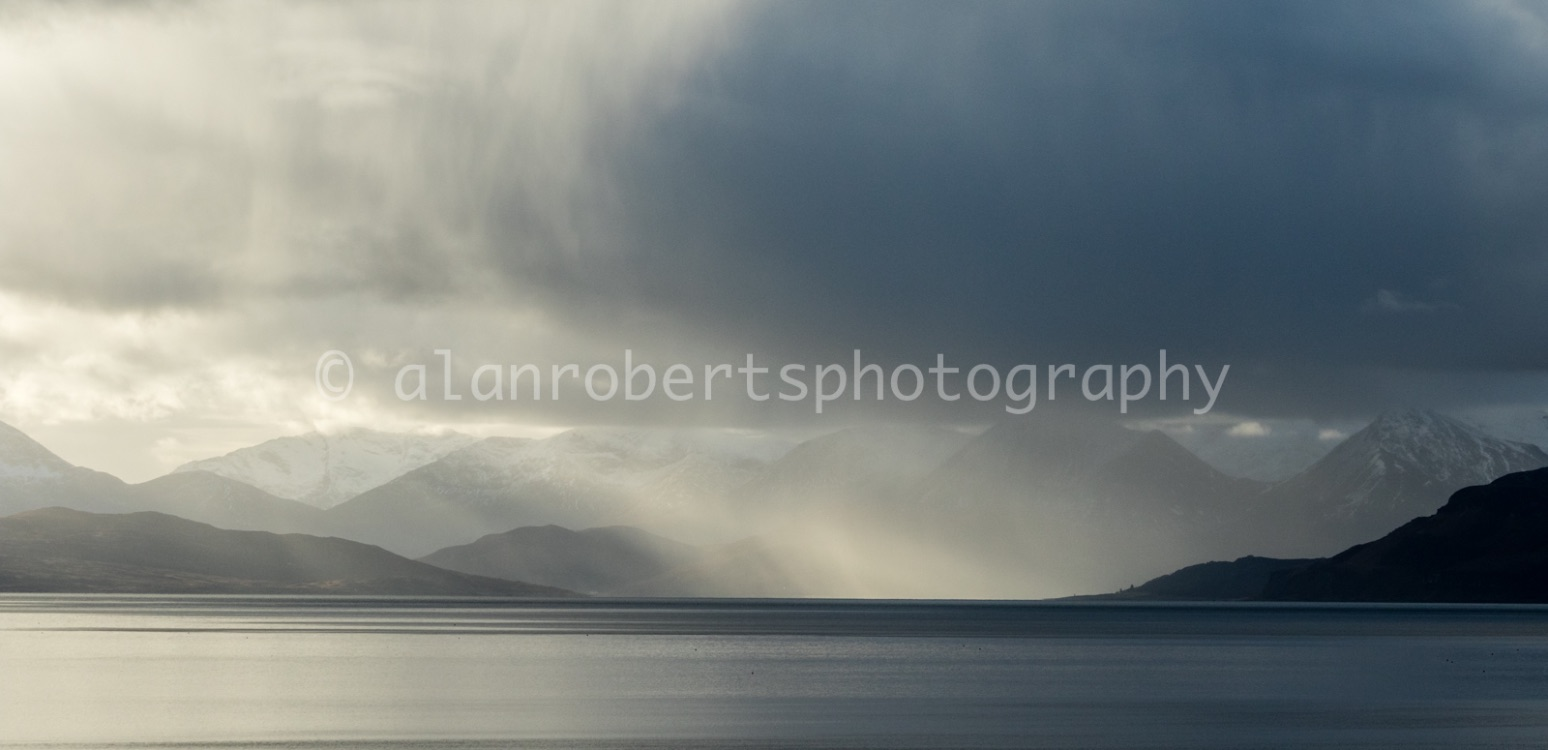 APPLECROSS - STORM ON THE WAY FROM SKYE