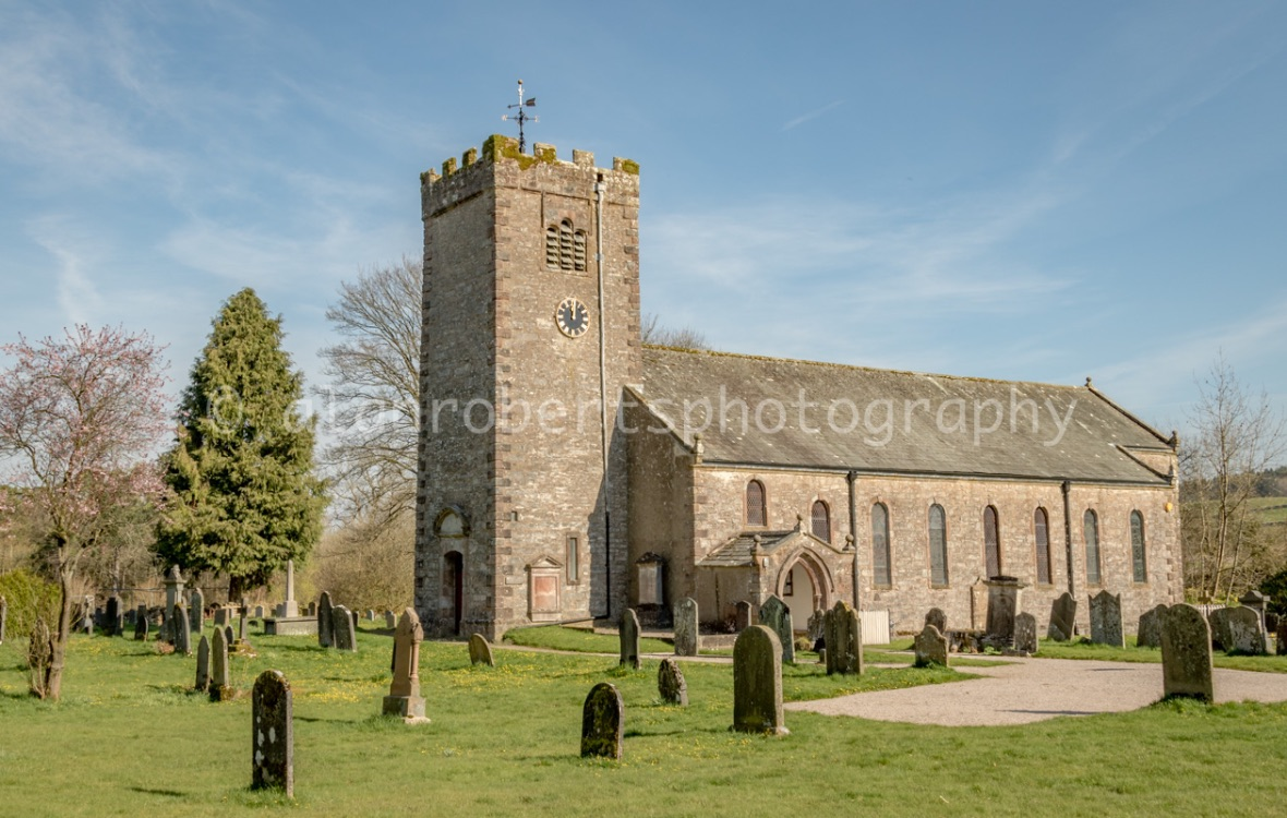 RAVENSTONEDALE CHURCH IN APRIL