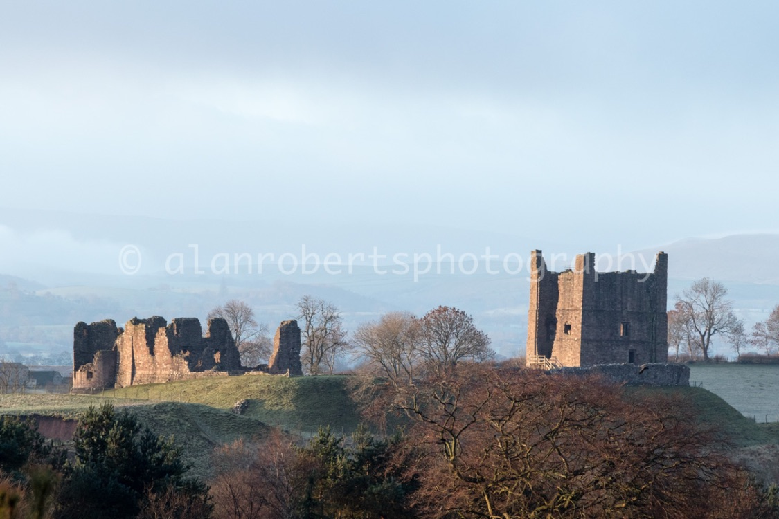 BROUGH CASTLE WINTER