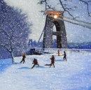 ROBERT ANTELL 'Snowballs by the Bridge'