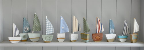 Small Ceramic Boats