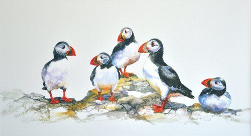 Puffin Party (large)