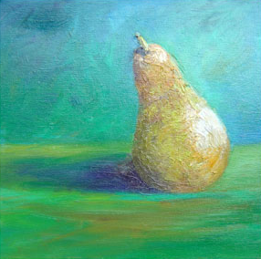 Pair. Oil on box canvas. 30 x 30 cms SOLD