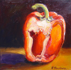 Pepper. Oil on box canvas. 30 x 30 cms SOLD