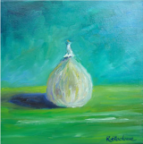 Fig. Oil on box canvas. 30 x 30cm SOLD