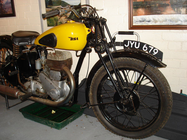 Dad's Bike - with girder forks