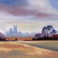 Distant Ely Cathedral
