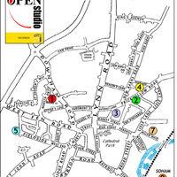 Christmas Open 2020 Map