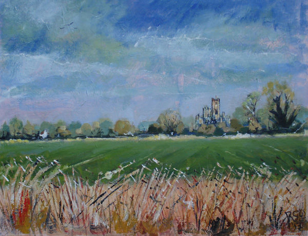 Ely Cathedral from Queen Adelaide Way
