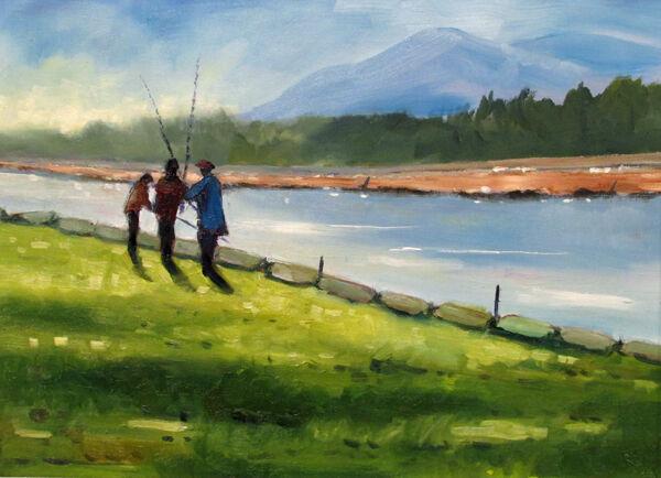 Fishermen on the Nith