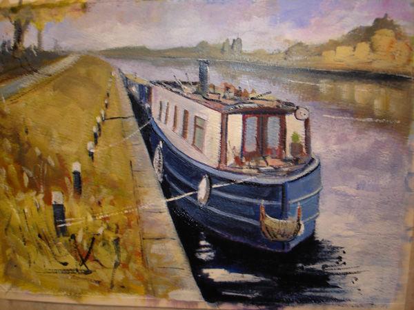 Narrow Boat at Ely