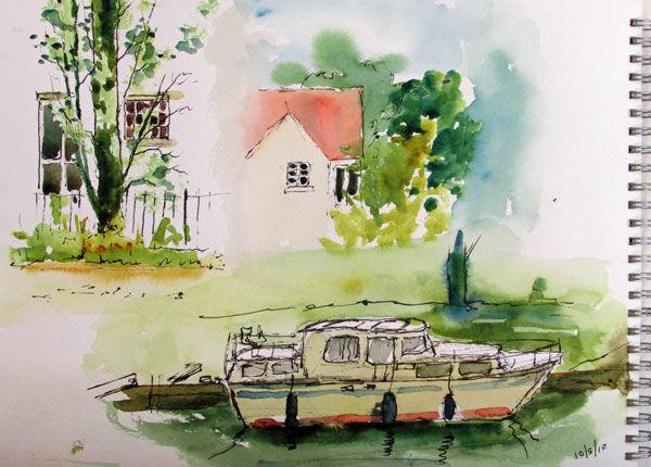 Riverside Sketches