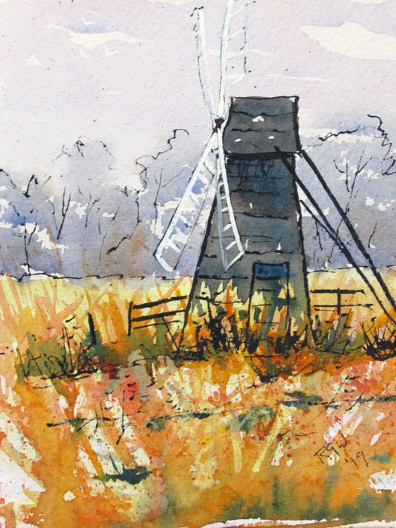 Winter Wind Pump 2 Wicken - 2019