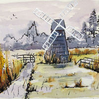 Winter Wind Pump Wicken - 2019