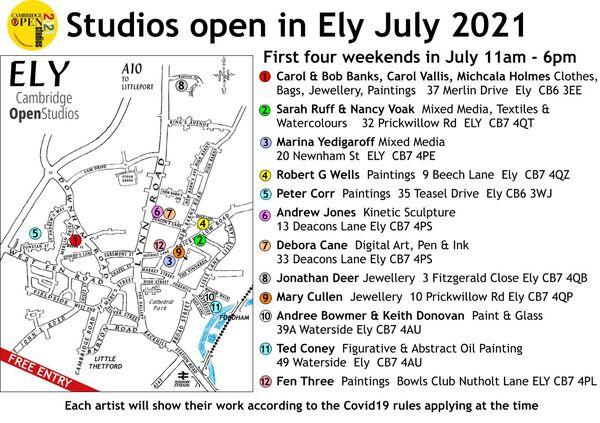 Ely Open Studios 2021