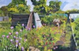 Allotments in Theydon Bois (32x48)