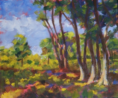 Summer in the Forest (38x46)
