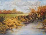 Slow Flow on the Roding (40x52)
