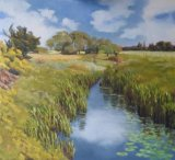 Lillies on the Roding (38x42)