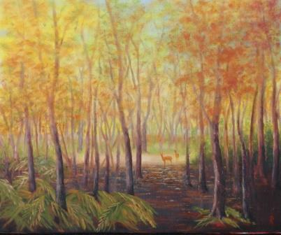 Autumn in the Forest (38x46)