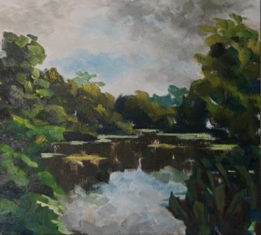 Wake Valley Pond (38x42)