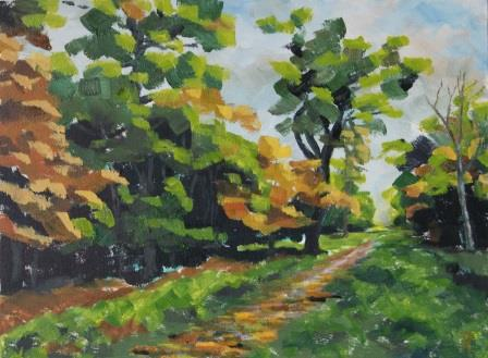 Forest Ride II (30x40)