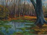 Woodland Pond (30x40)