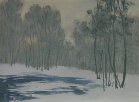 Forest Snow (32x43)